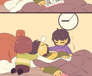 bed, au, and deltarune image