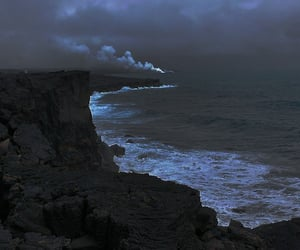 ocean, cloud, and nature image
