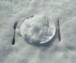 snow, white, and food image