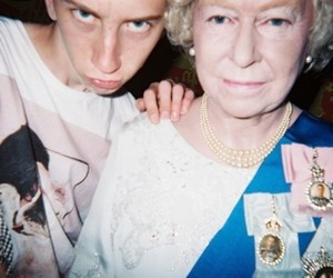 Queen, boy, and funny image