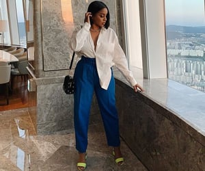 goal goals life, ootd tenue love, and stylish classy blue image