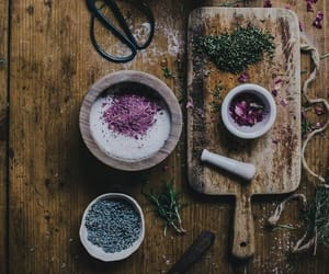 witch, magic, and herbs image