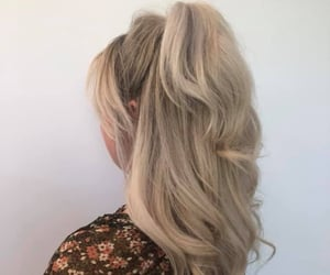beautiful, blonde, and curl image