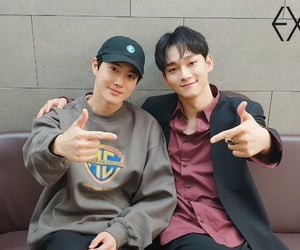Chen, exo, and ace image