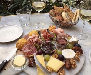 food, cheese, and bread image