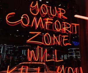 article, comfort zone, and future image