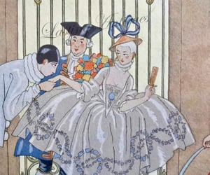 etsy, french fashion, and commedia dell arte image