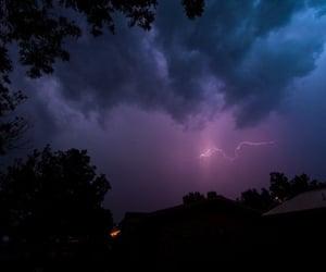 sky, grunge, and purple image