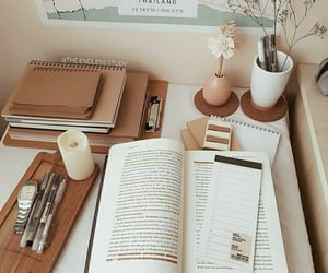 beige, books, and student image