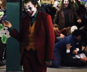 DC, joaquin phoenix, and joker image