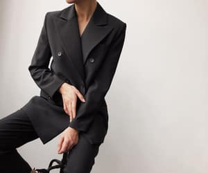 suit, womenswear, and namelazz image