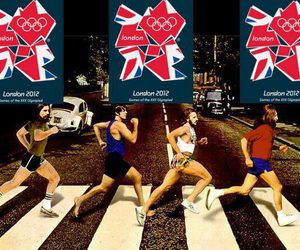 abbey road, the beatles, and olimpic games image
