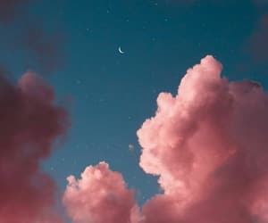 clouds, backgrounds, and pink image