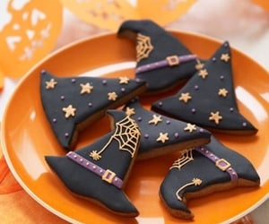 Halloween, witch, and Cookies image