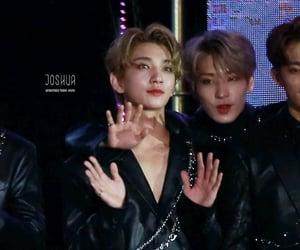 17, jeon wonwoo, and hong jisoo image