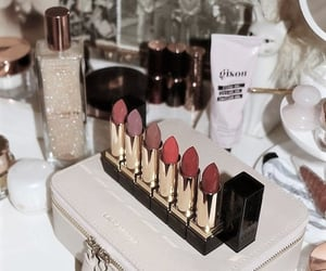 beauty, girly things, and lip stick image
