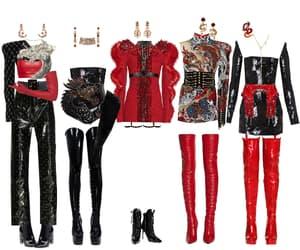 fashion, kpop group, and kpop image