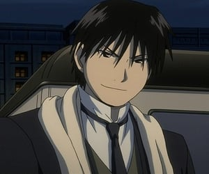 roy mustang, anime, and fullmetal alchemist image