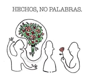 frases, love, and flowers image