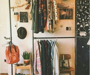 autumn, closet, and cloths image