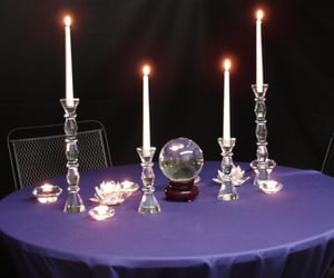 candles and purple image