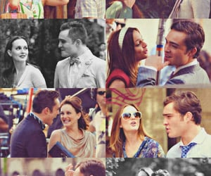 blair waldorf, chuck bass, and couples image