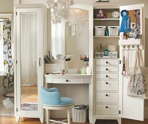 armoire, Blanc, and Bureau image