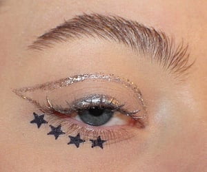 stars, alternative, and eye image