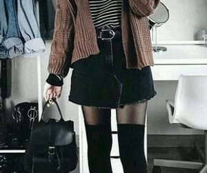 shirt, skirt, and style image