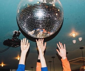 party, aesthetic, and disco image
