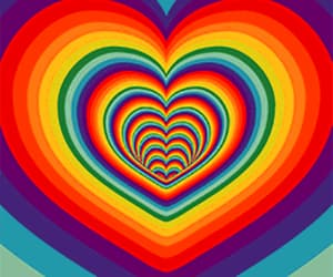 gif, gifs, and hearts image