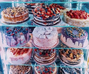 cakes, chocolate, and dessert image