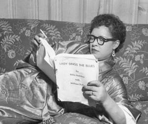 billie holiday, lady sings the blues, and her pit bull was mister image