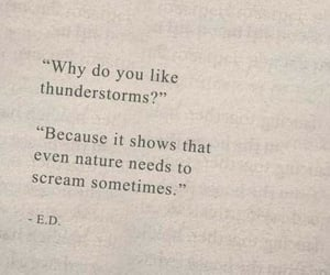 quotes, nature, and thunderstorm image