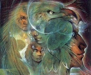 shaman, mysticism, and visionary image