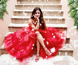 christmas and lea michele image
