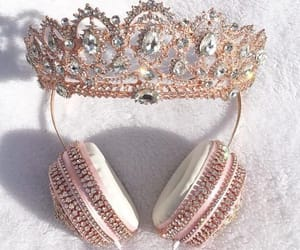 accessories, crown, and headphones image