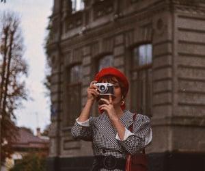 aesthetics, beauty, and beret image