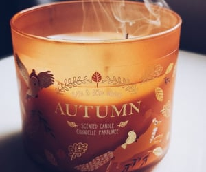 autumn, autumnal, and candle image