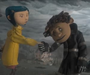 coraline, scary, and gif image
