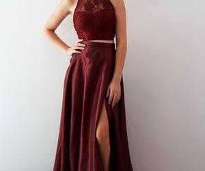 prom dresses, dresses, and fashion image