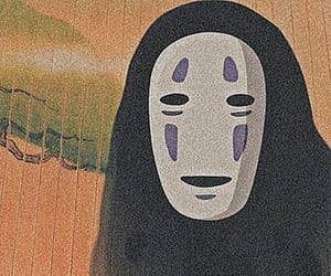 anime, no face, and spirit image
