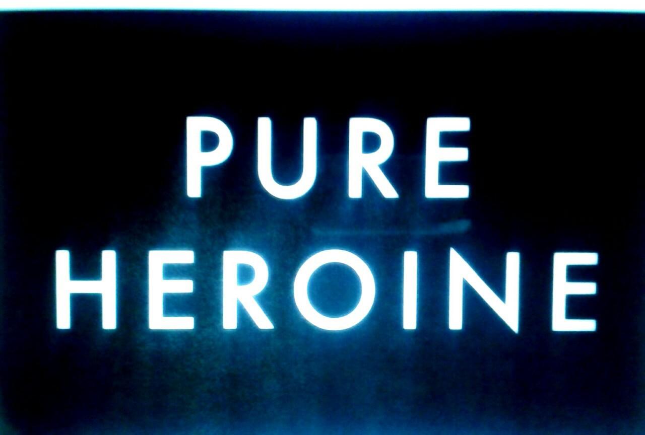 album, alternative, and pure heroine image