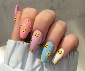 nails, smile, and cute image