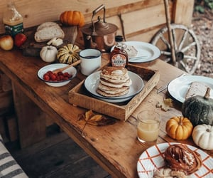 autumn, food, and fall image