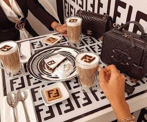 coffee, dessert, and love it image