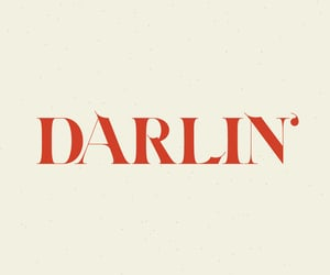 darlin, red, and quotes image