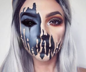 Halloween, makeup, and article image