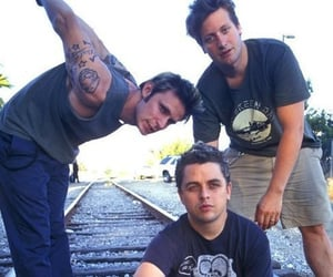 2000, green day, and train image
