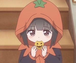 Halloween, anime, and aesthetic image
